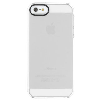 Coque iPhone Clear SE/5/5s Cas clair de l'iPhone 5 faits sur commande