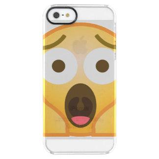 Coque iPhone Clear SE/5/5s Cri perçant Emoji