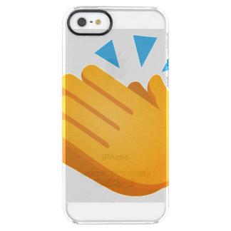 Coque iPhone Clear SE/5/5s Emoji de applaudissement