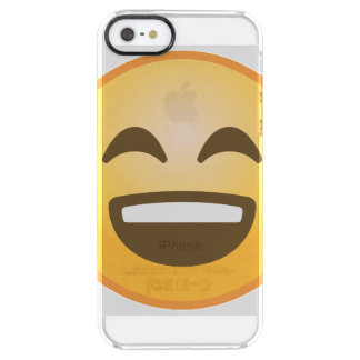 Coque iPhone Clear SE/5/5s Emoji de sourire