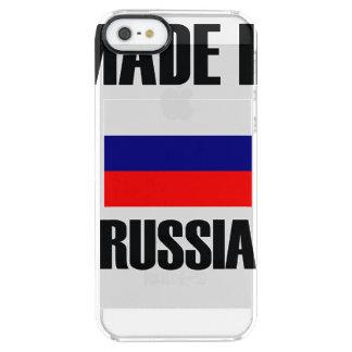 Coque iPhone Clear SE/5/5s Fait dans le drapeau de la Russie