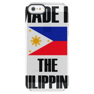 Coque iPhone Clear SE/5/5s Fait dans le drapeau de Philippines