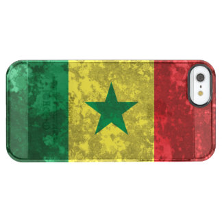 Coque iPhone Clear SE/5/5s Le Sénégal