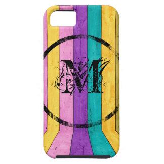 Coque iphone coloré de monogramme coques Case-Mate iPhone 5