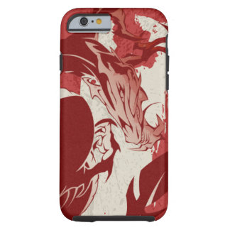 Coque iphone de dragon de sang