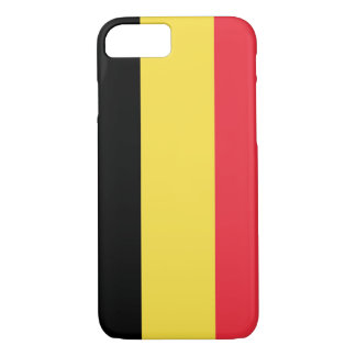 Coque iphone de drapeau de la Belgique