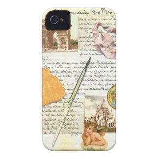 Coque iphone de journal intime de Paris