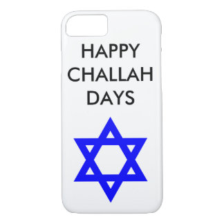 Coque iphone de jours de pain du sabbat