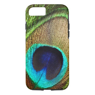 Coque iphone de la plume 6/6s de paon