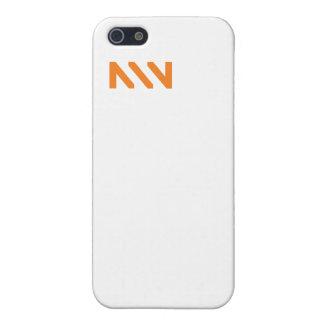 Coque iphone de monogramme de NNN Étuis iPhone 5