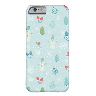 Coque iphone de motif de paquet de Joyeux Noël