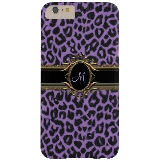 Coque iphone de poster de animal de léopard de