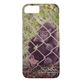 Coque iphone de singe de bébé