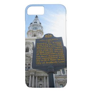 Coque iphone d'hôtel de ville de Philadelphie