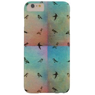 Coque iphone d'oiseau d'arc-en-ciel