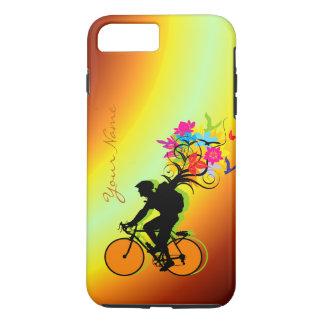 Coque iphone du paquet 1 de nature de cyclistes