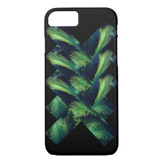 Coque iphone en feuille de palmier