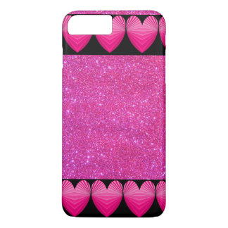 Coque iphone fascinant scintillant Girly