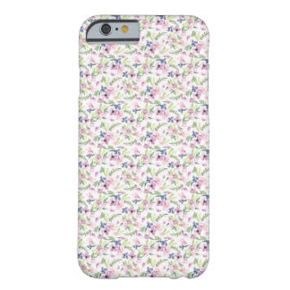 Coque iphone floral d'aquarelle coque barely there iPhone 6