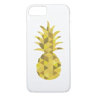 coque iphone géométrique d'ananas