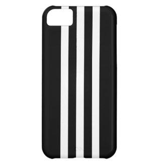 Coque iphone noir et blanc de rayure