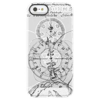 Coque iPhone Permafrost® SE/5/5s Alphabet ésotérique de théosophie
