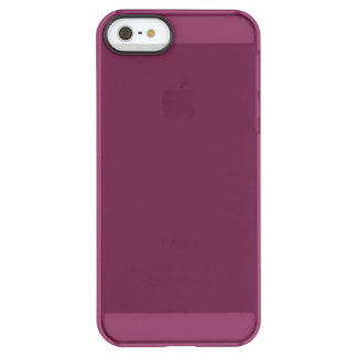 Coque iPhone Permafrost® SE/5/5s Couleur marron à la mode autoritaire