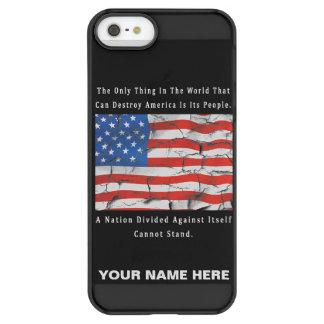 Coque iPhone Permafrost® SE/5/5s Une nation divisée
