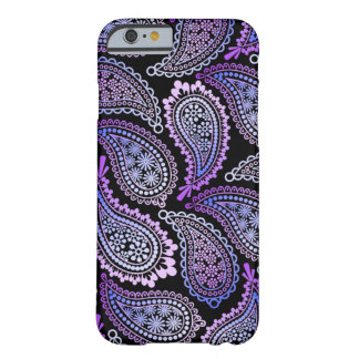 Coque iphone pourpre de Paisley Coque iPhone 6 Barely There