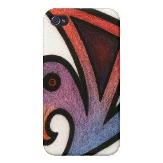 Coque iphone prédateur d'oiseau iPhone 4/4S case