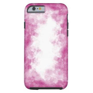 Coque iphone rose d'aquarelle