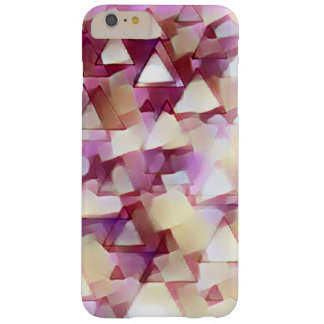 Coque iphone rose de triangles