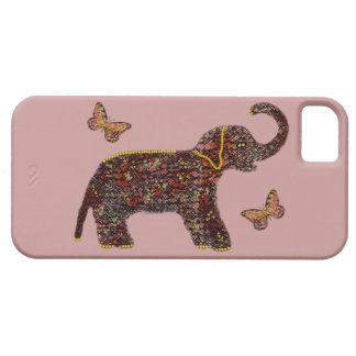 Coque iphone rose exotique d'éléphant