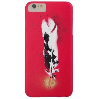 Coque iphone rouge de plume