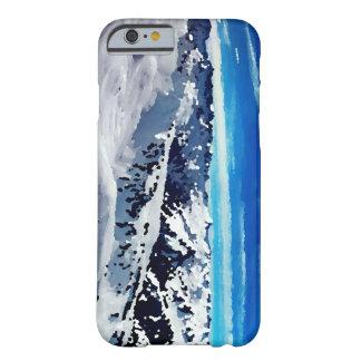 Coque Iphone sommet montagne neige