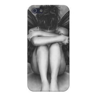 Coque iphone triste de fille de Buttefly Étui iPhone 5
