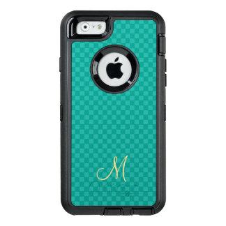Coque iphone turquoise d'OtterBox de motif de