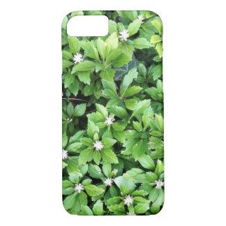 Coque iphone vert de feuille