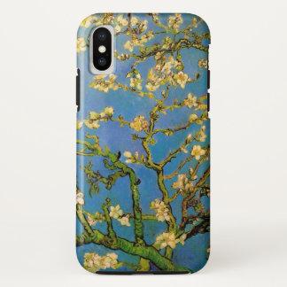 Coque iPhone X Arbre d'amande de floraison par Van Gogh,