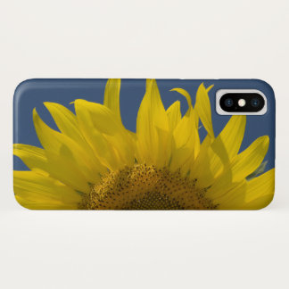 Coque iPhone X Augmentation de tournesol