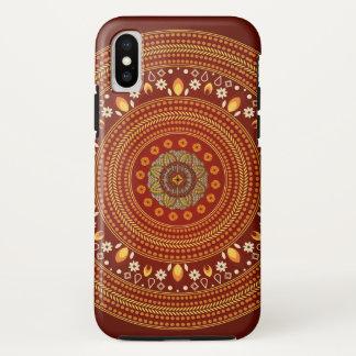 Coque iPhone X Automne exotique