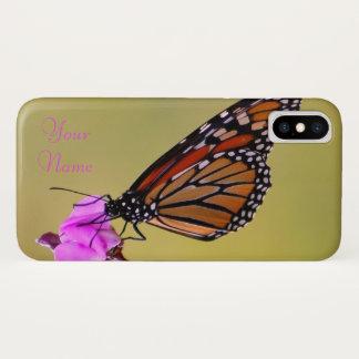 Coque iPhone X Baisers de papillon