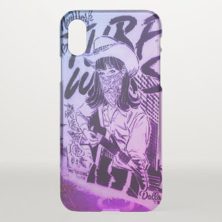 Coque iPhone X Bandit d'exclusivités de cool d'art de rue de