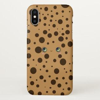 Coque iPhone X Biscuit