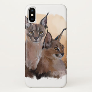 Coque iPhone X Caracal