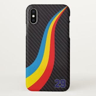 Coque iPhone X Carbone de cas de téléphone de Fernando Alonso
