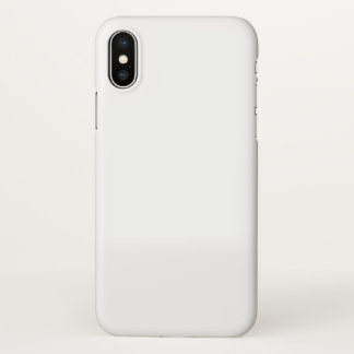 Coque iPhone X Cas brillant de l'iPhone X d'Apple