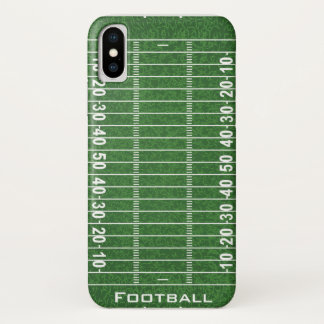 Coque iPhone X Cas de l'iPhone X de conception de terrain de
