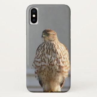 Coque iPhone X Cas de l'iPhone X de faucon de la Californie