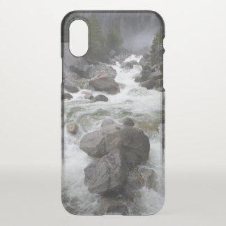 Coque iPhone X Cas de précipitation de téléphone des eaux